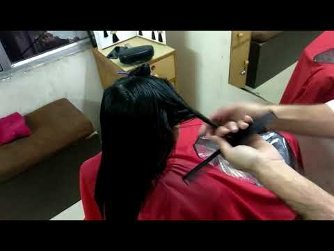 Latest (2018) Emo Hair Cut with Blow Dry by X-poss Unisex Salon