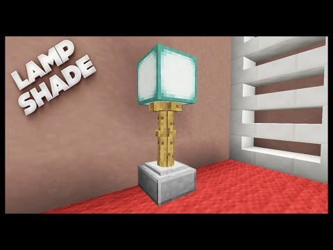 Minecraft - How To Make A Lamp