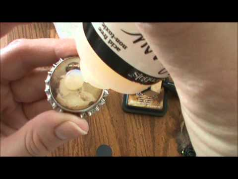 Bottlecap Embellishment Tutorial