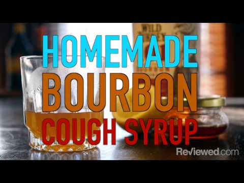 This bourbon cough syrup is the perfect remedy for your lingering cold