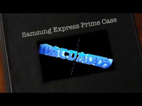 Unboxing AT&T Go Phone Samsung Express Prime J3 Wallet Credit Card Carrying Flip Case