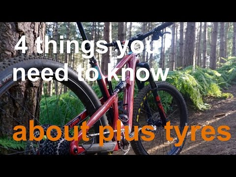 4 things you need to know about PLUS tyre bikes
