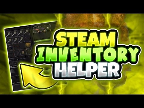 Nutty Trading Tips #3: STEAM INVENTORY HELPER! [CS:GO & Tf2]