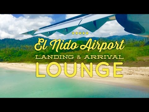 El Nido Lio Airport Landing and Arrival Lounge Palawan Air Swift Airlines by HourPhilippines.com