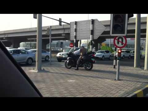 New Royal Oman Police motorbikes