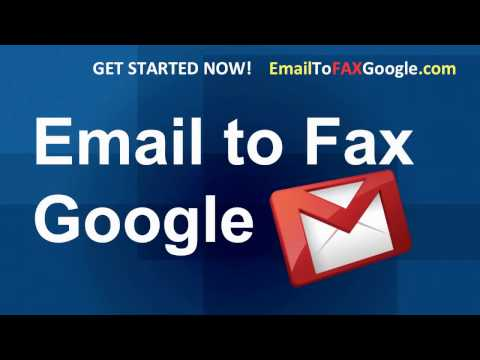 Gmail Fax and Email to Fax on Google Gmail