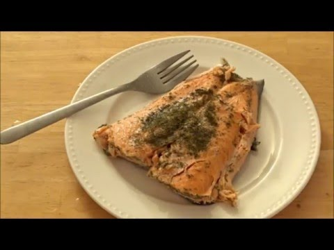 How to Cook Fish (Salmon) in the MICROWAVE!