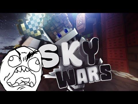 RAGE QUIT! | Minecraft Skywars