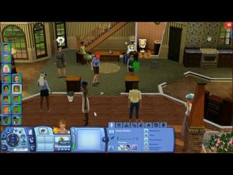 The Sims 3- How to get more than 8 sims on one lot??