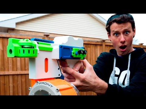 INSANE FULL AUTO NERF GUN! | Project FDL-2