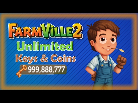 how to get unlimited keys and coins in farmville 2 easy way