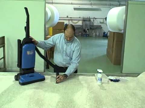 Removing Broken Glass from Carpet