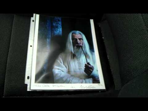 Ttm Autograph Success Ian Mckellen Gandalf Lord Of The Rings