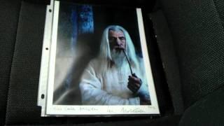 Ttm Autograph Success Ian Mckellen Gandalf Lord Of The Rings