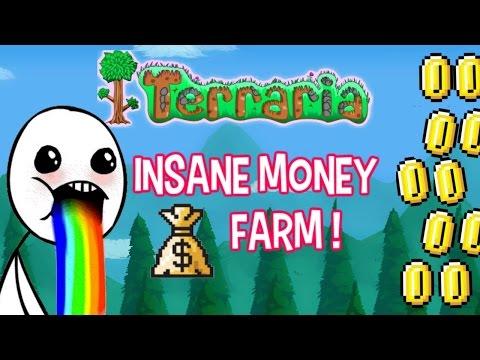 Easy Money Farm 5 minute Platinum Coins! | Terraria 1.3 PC Solo Gameplay | EP8