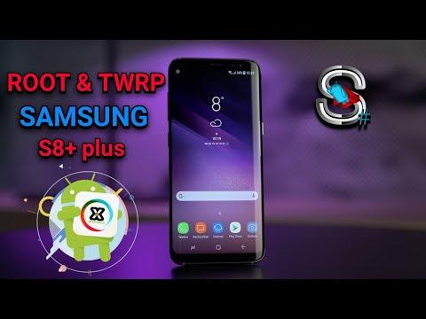 Cara mudah ROOT dan Instal TWRP SAMSUNG S8+ PLUS