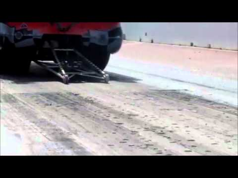 Mats Wicktor Pro mod Corvette launch video using Wizards of NOS REVO system / Run 1
