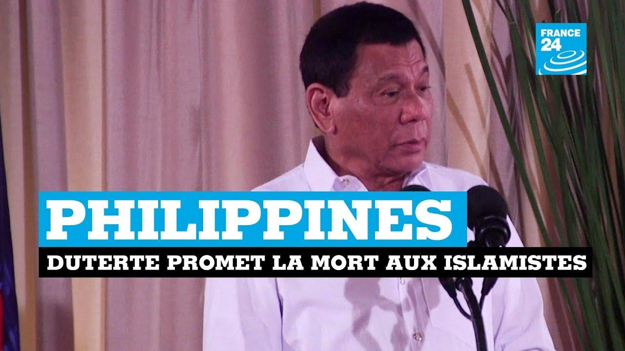 Philippines : le président Duterte promet la mort aux islamistes