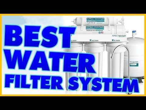 10 Best Water Filter System Reviews 2017