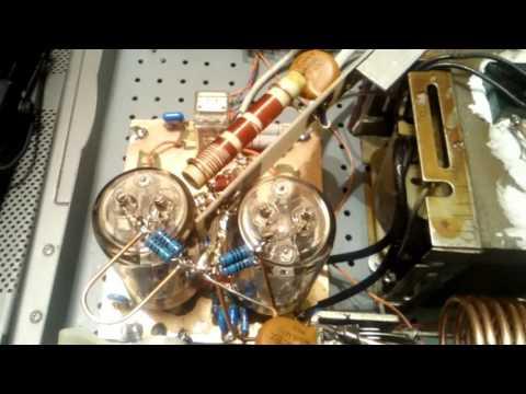 2xGU-19 ( ГУ-19 , ГУ19 ) CB linear amplifier by YO6PMX