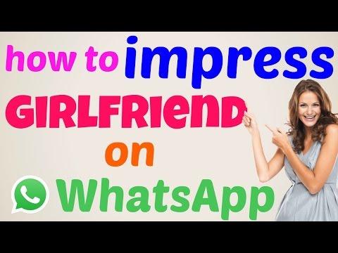 how to impress a girl in whatsapp in hindi / Urdu 2017