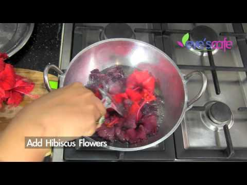 DIY - Hibiscus Hair oil Preparation | Fast Hair Growth