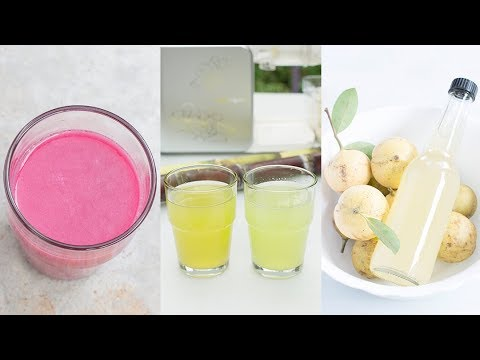 3 Awesome Juices You've Never Thought You Could Make At Home
