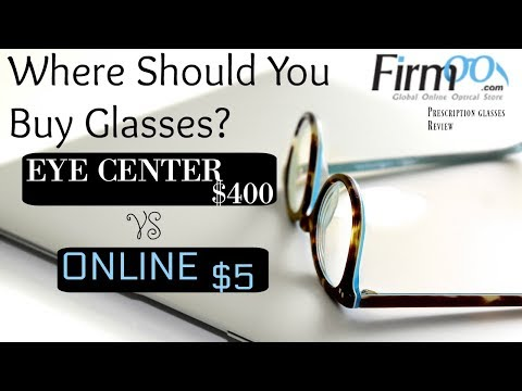 Should You Buy Glasses Online or at Eye Doctor? Firmoo Prescription Glasses Review   2018