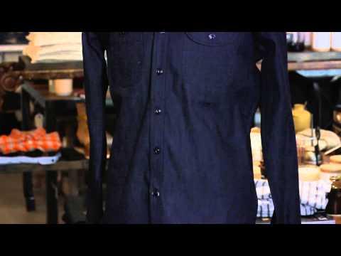 What Should a Guy Wear With a Dark Denim Shirt? : Men's Boots & Denim Fashion