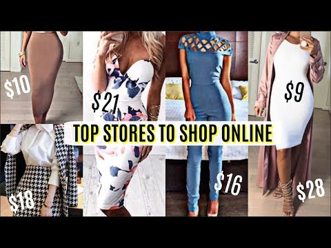 TOP 10 Places to SHOP ONLINE | How To Look Expensive & Stylish On a Budget 2018!