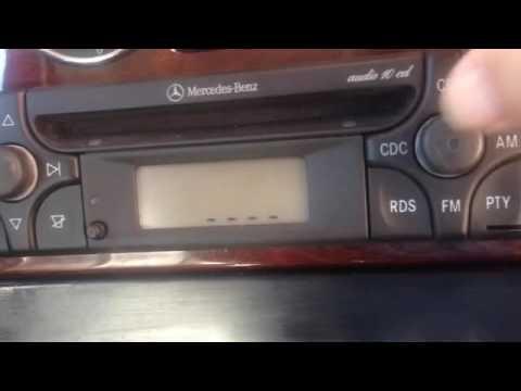 Radio becker audio 10 cd mercedes benz introducir código 100%