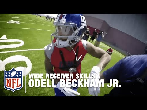 Odell Beckham Jr. GoPro Footage |  How to Make the Perfect Catch | NFL