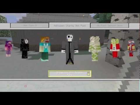 Minecraft: Xbox 360 Edition - Halloween Skin Pack