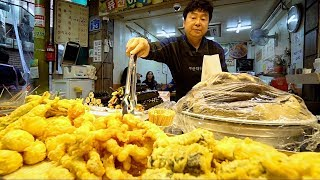 Download KOREAN STREET FOOD at Mangwon Market | BEST KOREAN FOOD Market In Seoul? SPICY Street Food in Korea Video