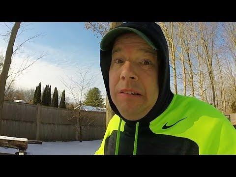 WINTER as a LANDSCAPER | Jogging ROCKY Style