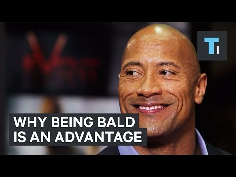 Why being bald is an advantage
