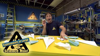 Science Max|BUILD IT YOURSELF|Paper Airplanes|EXPERIMENT