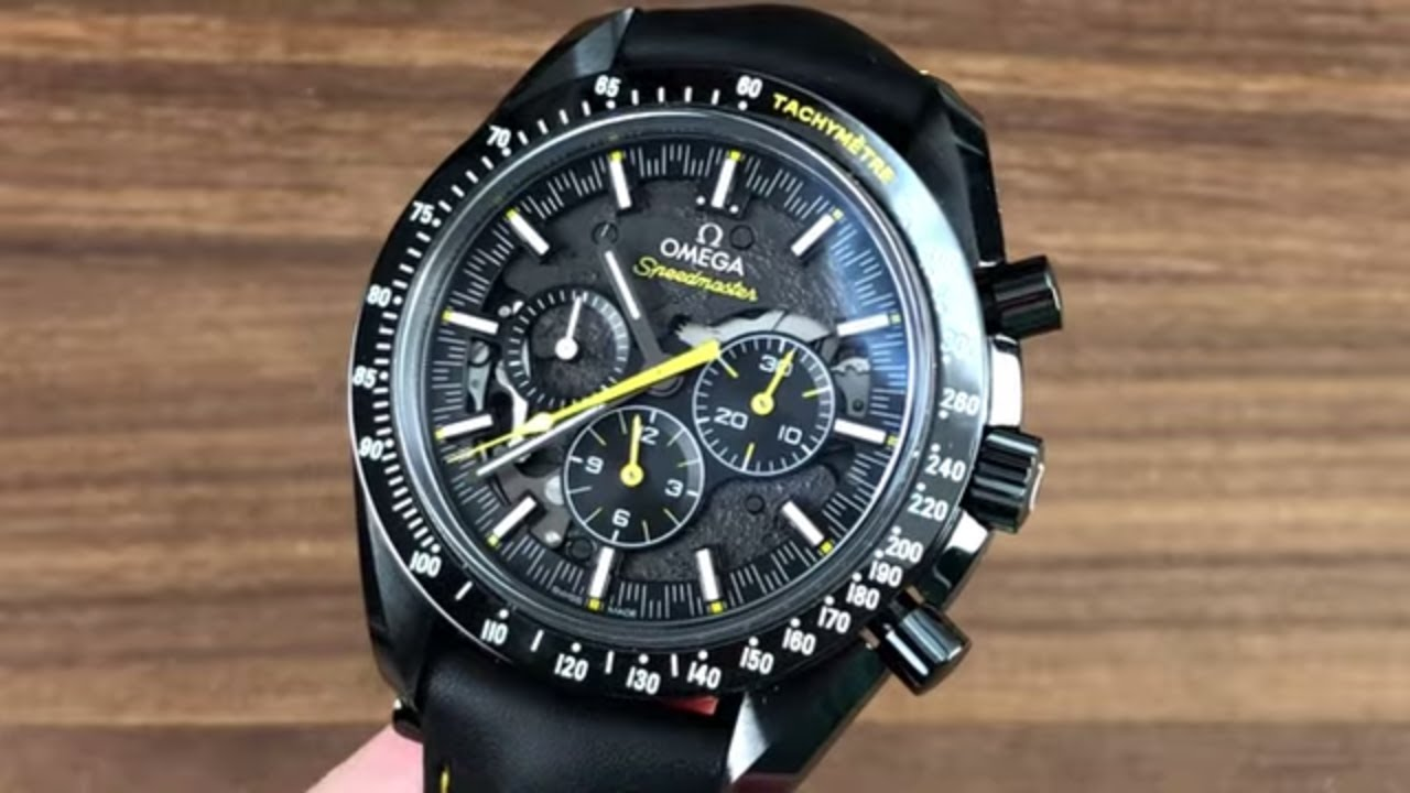 """Omega Speedmaster Moonwatch """"Dark Side of the Moon"""" Apollo 8 311.92.44.30.01.001 Review"""
