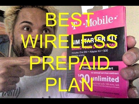 Best Prepaid Wireless (with 5GB 4G) Plan - TMobile - $30!