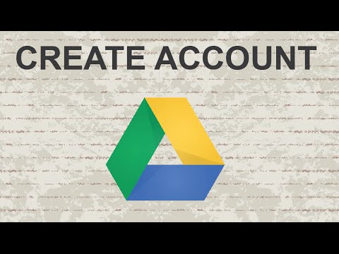 How to create Google Drive Account