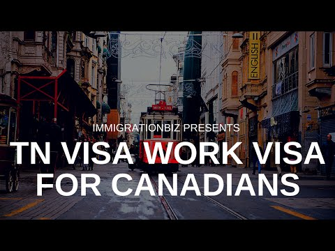 How to apply for visa: TN NAFTA work visa for Canadians & Mexicans