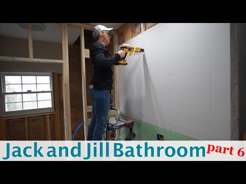 Jack and Jill Bathroom Remodel - part 6