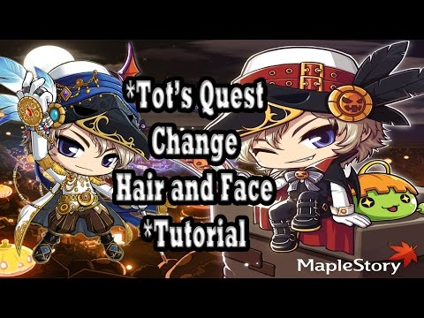 [MAPLESTORY] Free Hair Style Coupon VIP - Tot's Quest