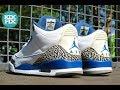 Download Video Download Nike Air Jordan 3 True Blue Full Restoration #11 KixFix 3GP MP4 FLV