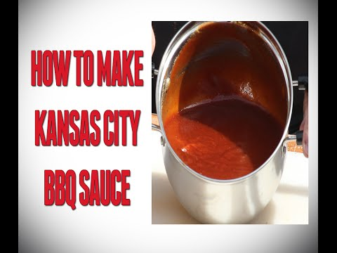 How To Make Kansas City BBQ Sauce