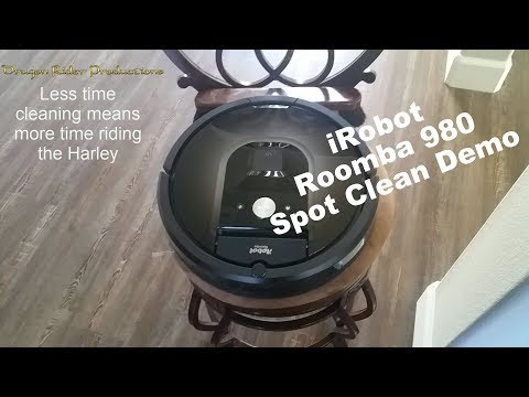 iRobot's Roomba 980 Spot Cleaning Demo