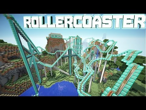 Minecraft Pocket Edition 0.8.1 RollerCoaster!