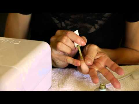 how to remove shellac and apply acrylic nail: efile - episode three