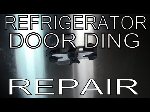 How To Remove a Ding/Dent From a Refrigerator Door (Samsung, LG, GE, Frigidaire, Kenmore)