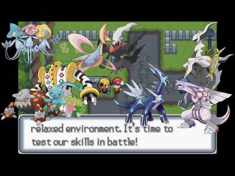 Let's Play Pokemon Light Platinum 47 - Sinnoh Legendaries